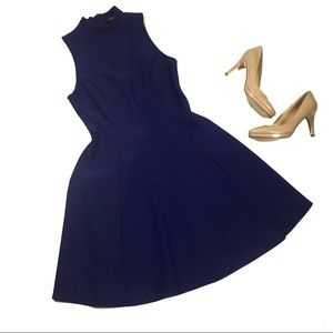 ModCloth Mystic Purple Swing Dress size large
